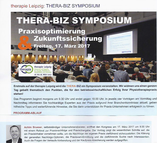 Thera-Biz-Kongress 2017